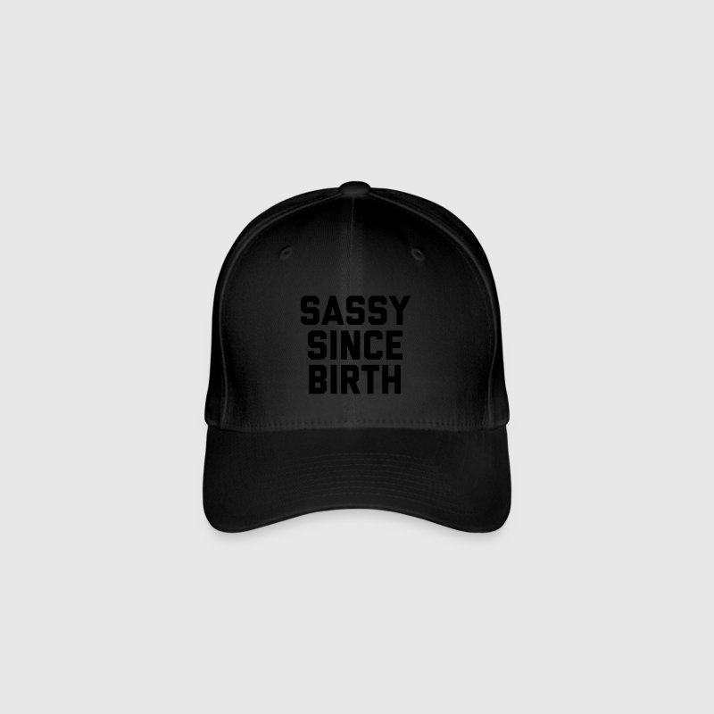 Sassy Since Birth 2 Funny Quote Caps & Hats - Flexfit Baseball Cap