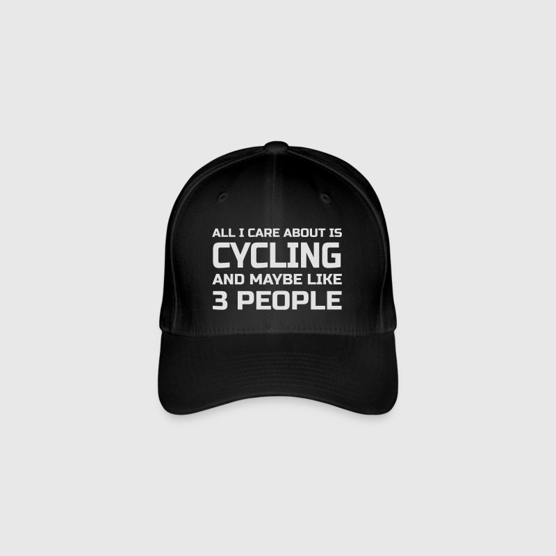 Care about Cycling Caps & Mützen - Flexfit Baseballkappe