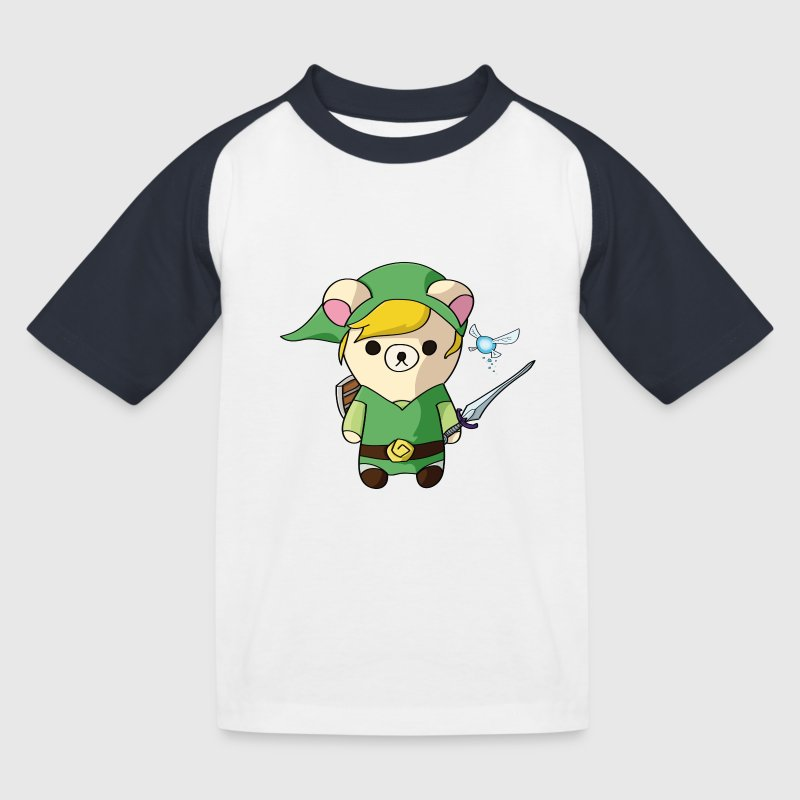 Teddy Link - T-shirt baseball Enfant