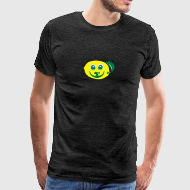 citron fruit sourire 611 Vêtements de sport - T-shirt Premium Homme