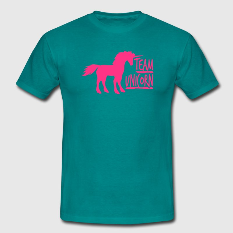 équipe partie licorne licorne cool fun gay gay ros Tee shirts - T-shirt Homme