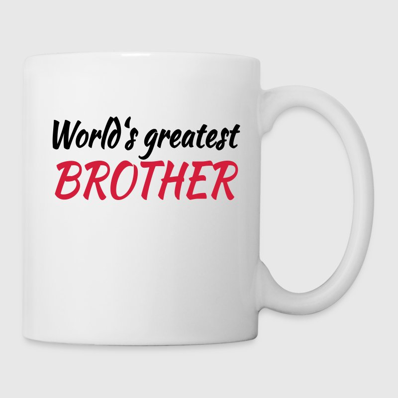 World's greatest brother Tassen & Zubehör - Tasse