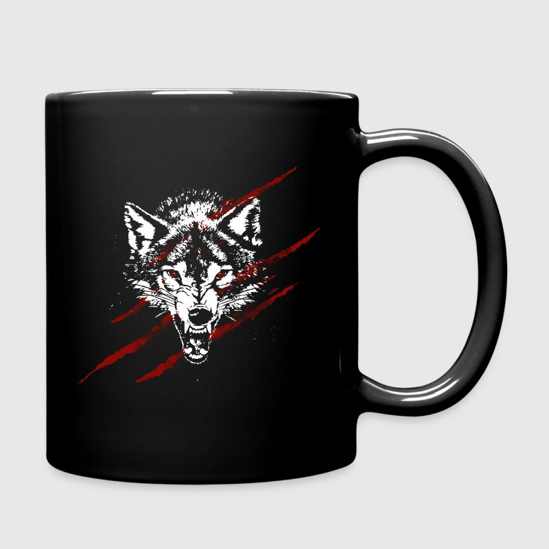 Angry wolf Mugs & Drinkware - Full Colour Mug