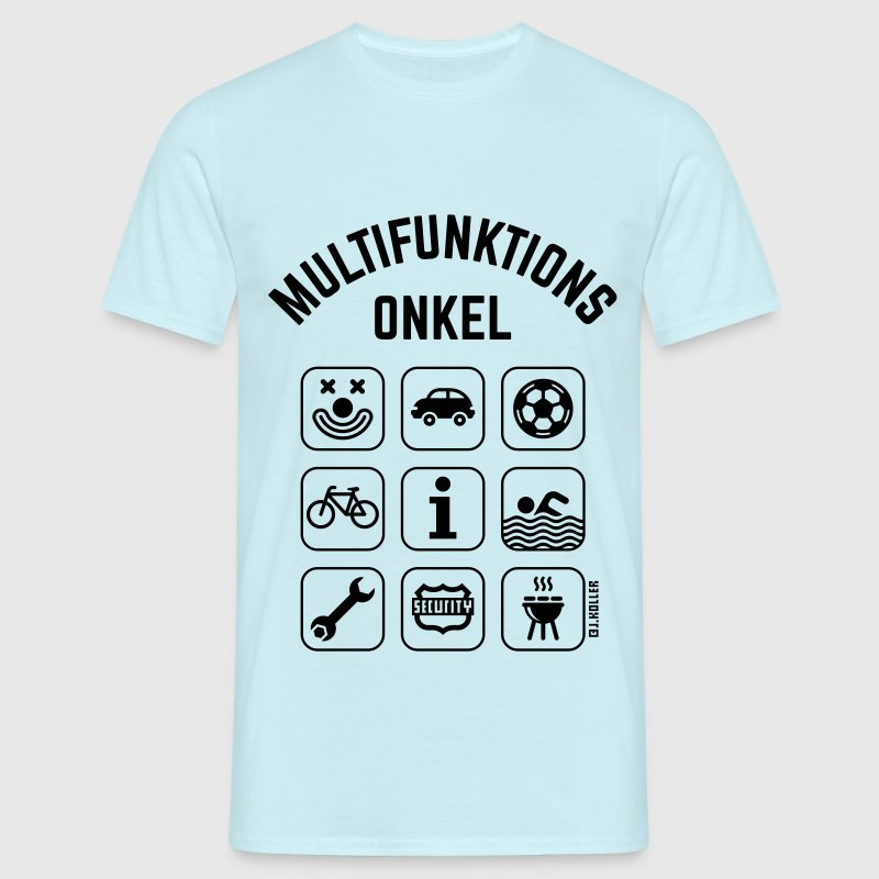 Multifunktions Onkel (9 Icons) T-Shirts - Männer T-Shirt