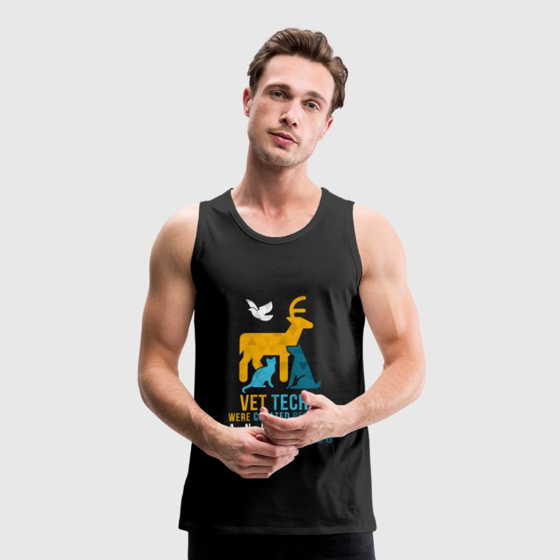 Vet tech -animal heroes Sports wear - Men's Premium Tank Top