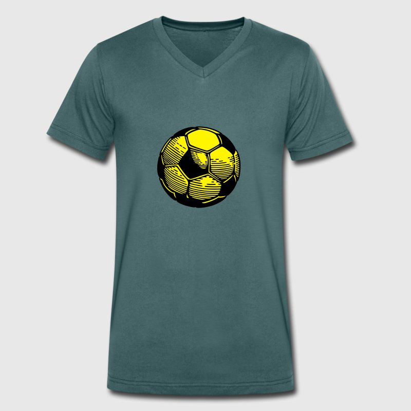 Football ball T-Shirts - Men's V-Neck T-Shirt
