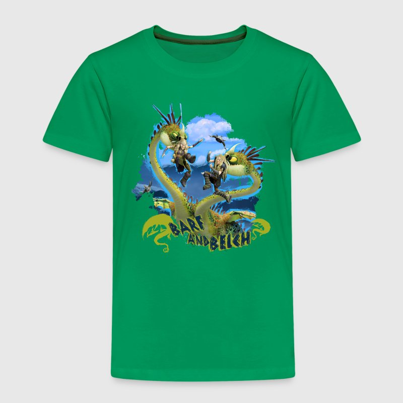 DreamWorks Dragons 'Barf and Belch' Kid's T-Shirt - Kids' Premium T-Shirt
