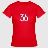 36, Sechsunddreißig, Thirty Six, Pelibol ™ T-Shirts - Frauen T-Shirt