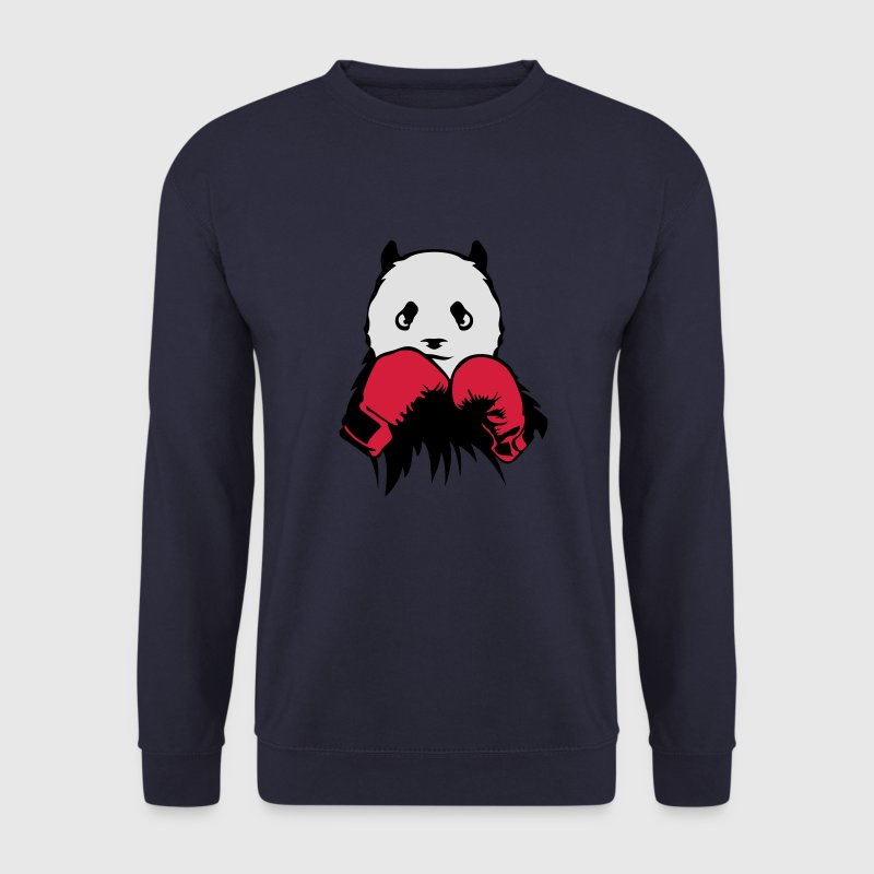 panda boxeur gant boxe Sweat-shirts - Sweat-shirt Homme