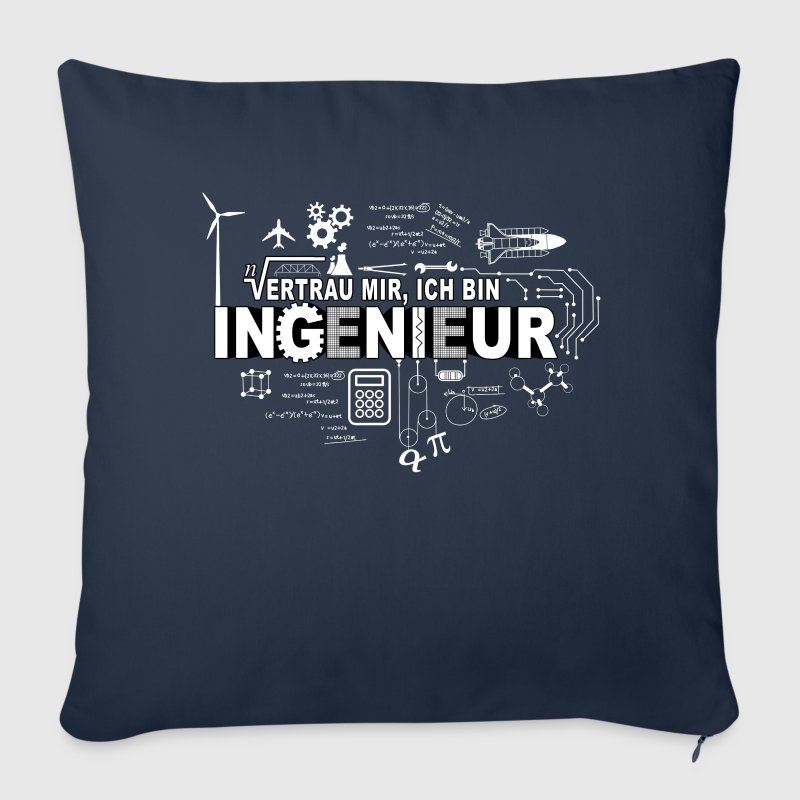 TRUST ME - I'M AN ENGINEER Other - Sofa pillow cover 44 x 44 cm