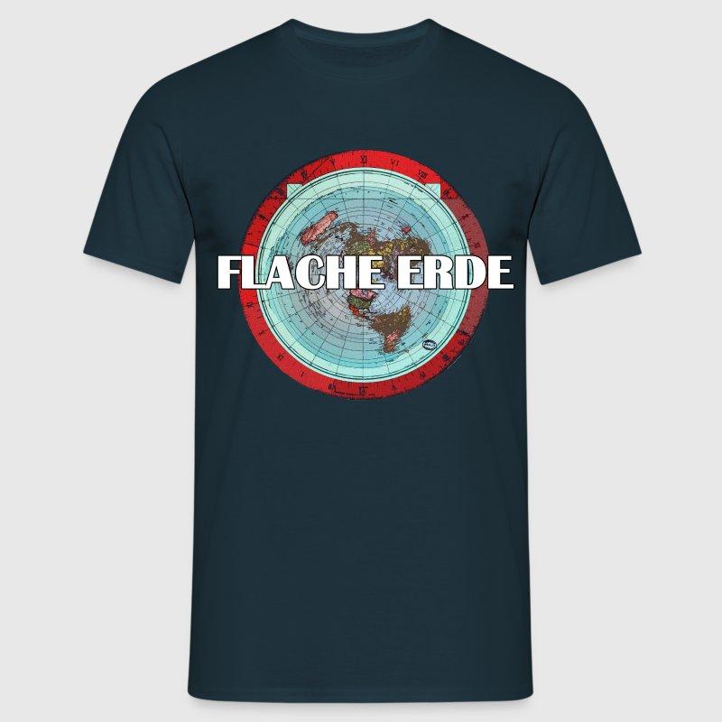 flache erde t shirt spreadshirt. Black Bedroom Furniture Sets. Home Design Ideas