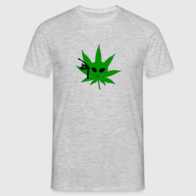 Alien Weed - Men's T-Shirt
