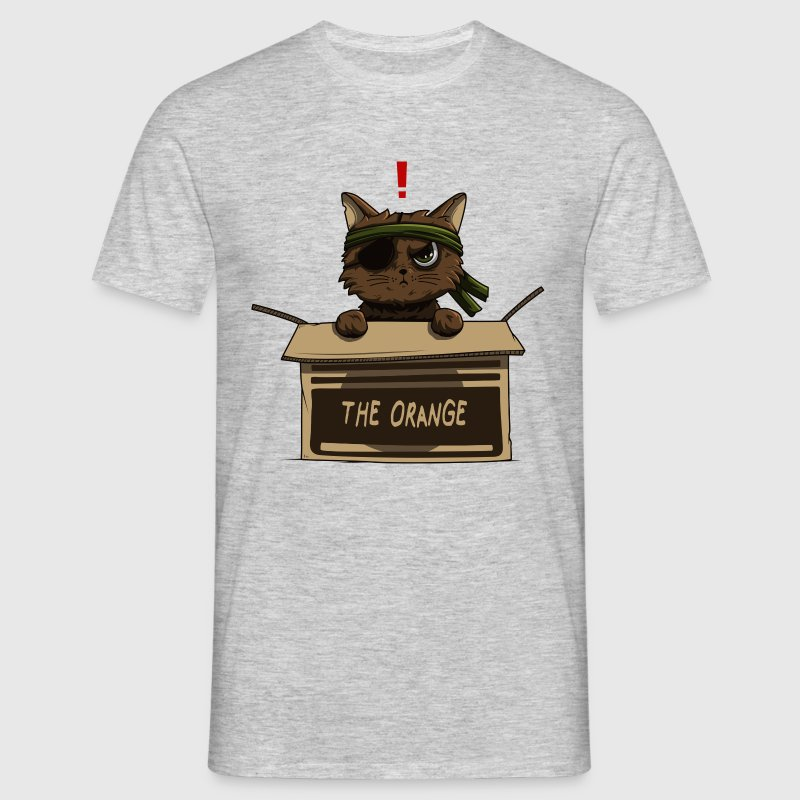 Chat carton - T-shirt Homme