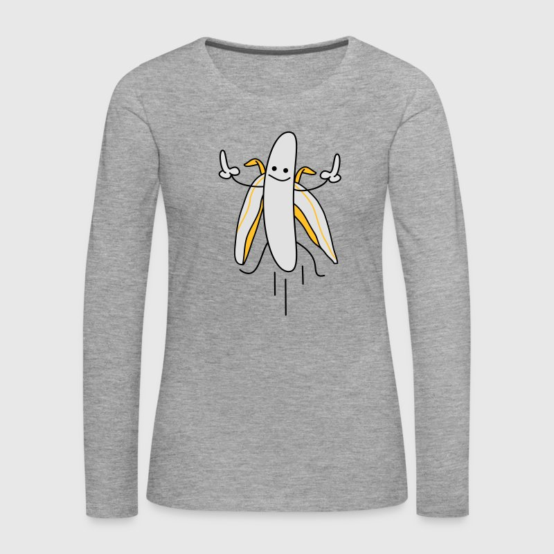 lucky banana Long Sleeve Shirts - Women's Premium Longsleeve Shirt