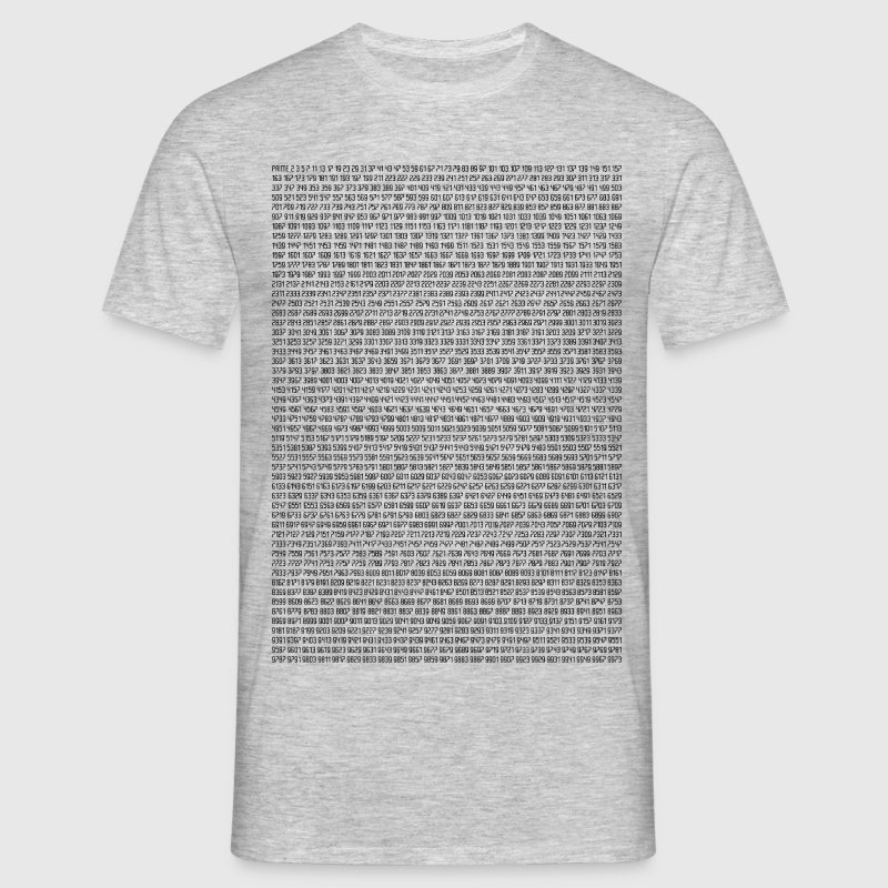 Prime Numbers | 1 to 10.000 T-Shirts - Men's T-Shirt