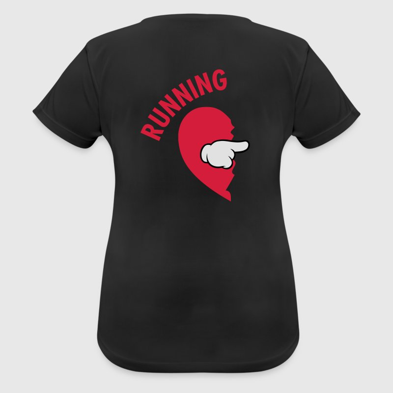 Running Partner (Part 1) Sportbekleidung - Frauen T-Shirt atmungsaktiv