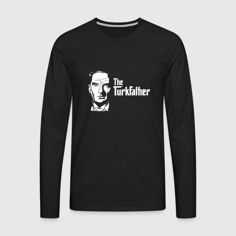 The Turkfather - Männer Premium Langarmshirt