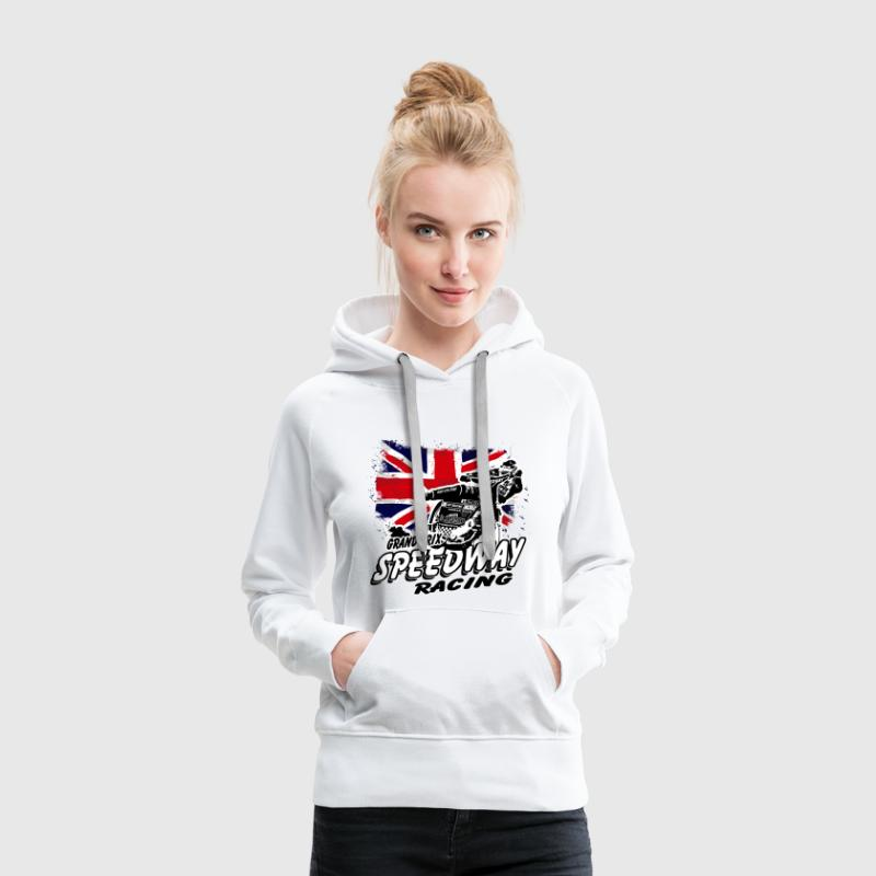 Speedway - Union Jack - UK Flag Hoodies & Sweatshirts - Women's Premium Hoodie