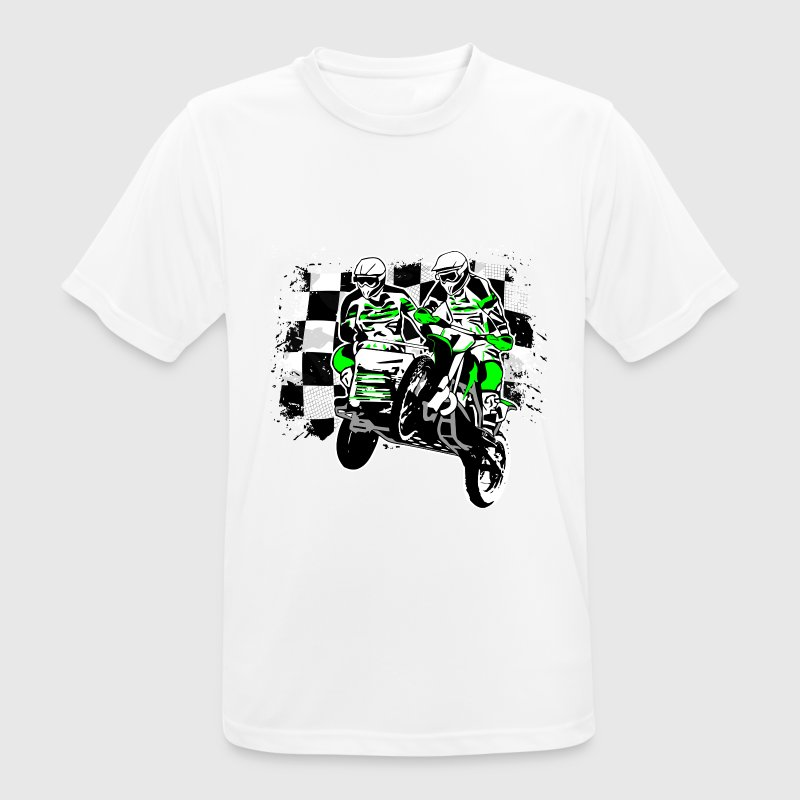 Sidecar MotoCross T-Shirts - Men's Breathable T-Shirt