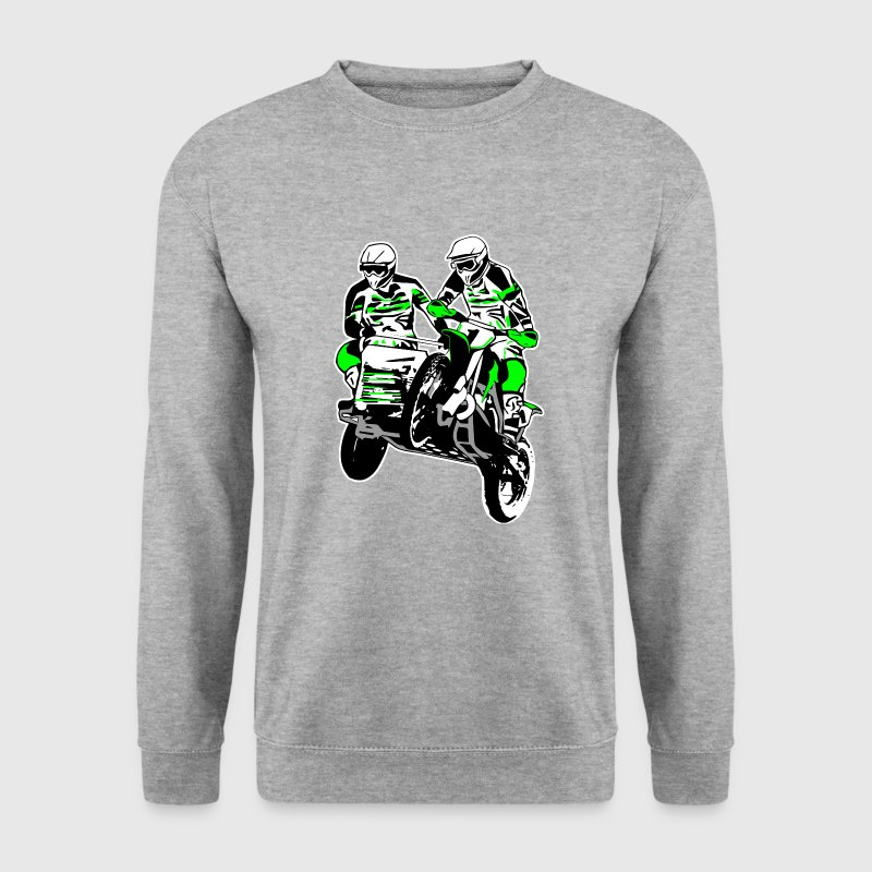 Sidecar MotoCross Hoodies & Sweatshirts - Men's Sweatshirt