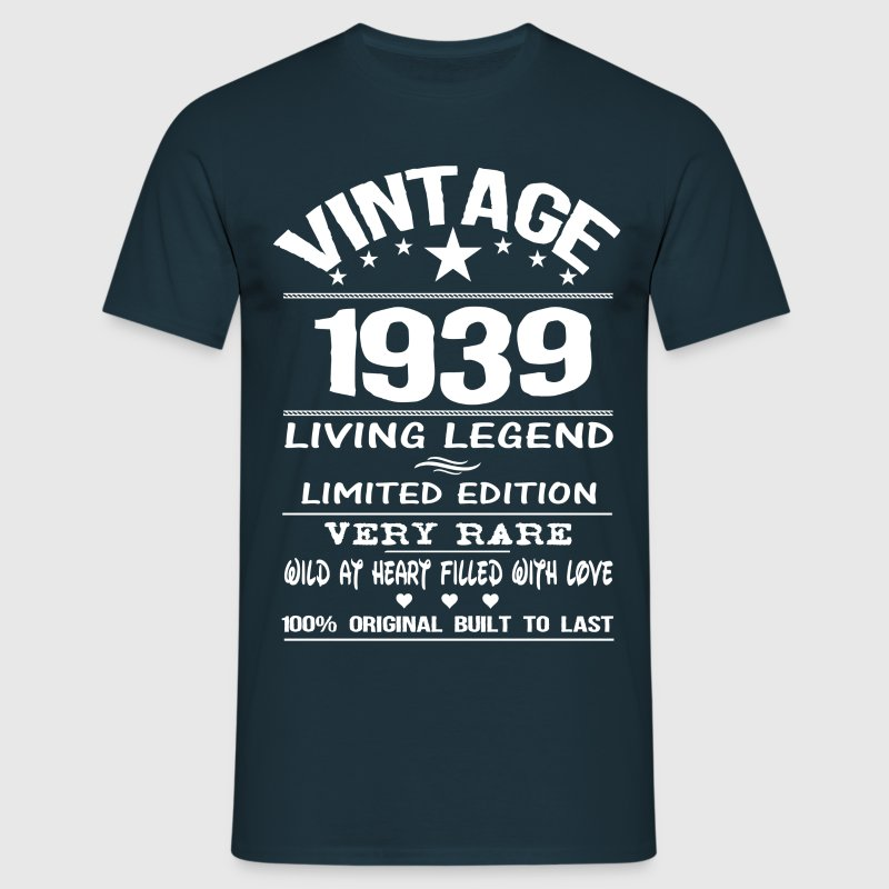 VINTAGE 1939-LIVING LEGEND T-Shirts - Men's T-Shirt