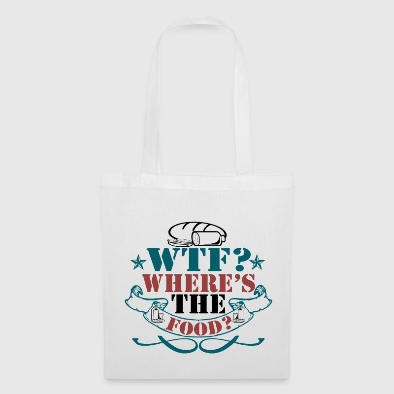 Where's The Food? - Tote Bag