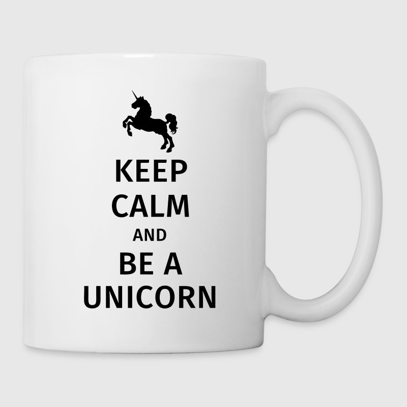 keep calm and be a unicorn Bouteilles et Tasses - Tasse