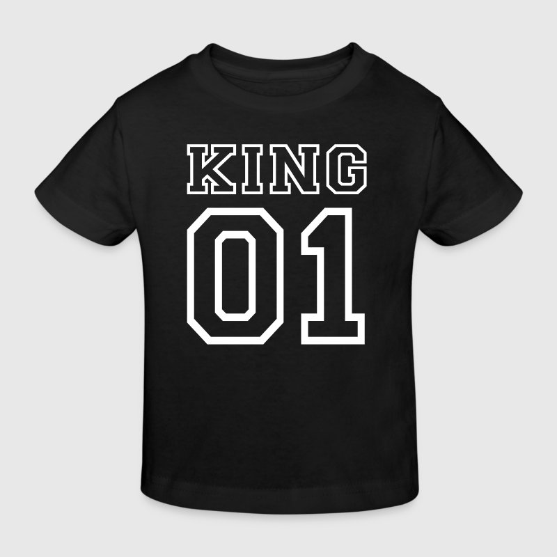 PARTNERSHIRT - KING 01 Shirts - Kids' Organic T-shirt