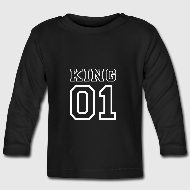 PARTNERSHIRT - KING 01 baby shirts met lange mouwen - T-shirt