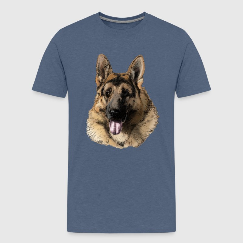 German shepherd Shirts - Teenage Premium T-Shirt