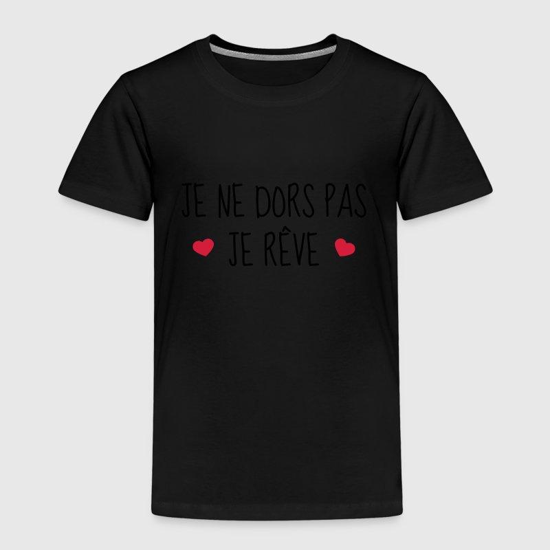 Tee shirt je ne dors pas je r ve naissance b b spreadshirt - Code promo je porte mon bebe ...