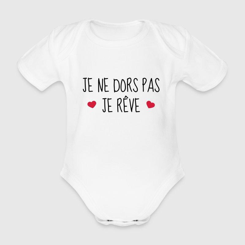 Body b b je ne dors pas je r ve naissance b b spreadshirt - Code promo je porte mon bebe ...
