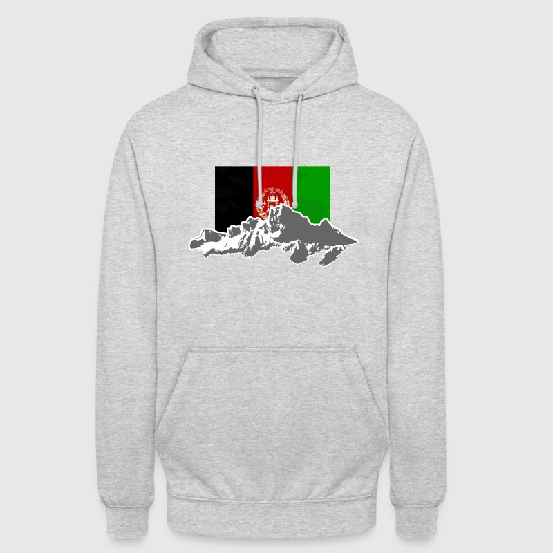Afghanistan - Flag & Mountains Pullover & Hoodies - Unisex Hoodie