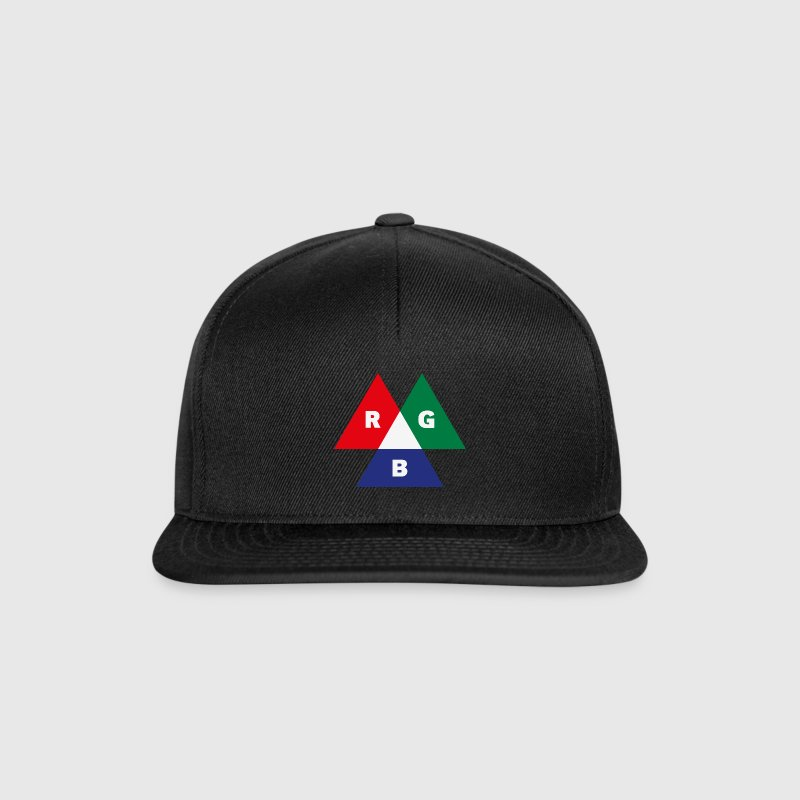 RGB Mode (Red - Green - Blue) PNG Caps & Hats - Snapback Cap