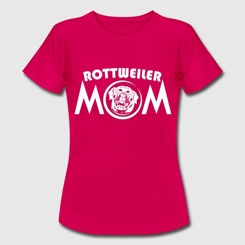 Rottweiler mom - Women's T-Shirt