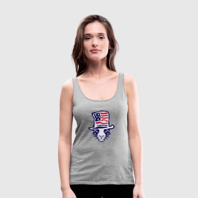 flaggehut tiger 1 Tops - Frauen Premium Tank Top