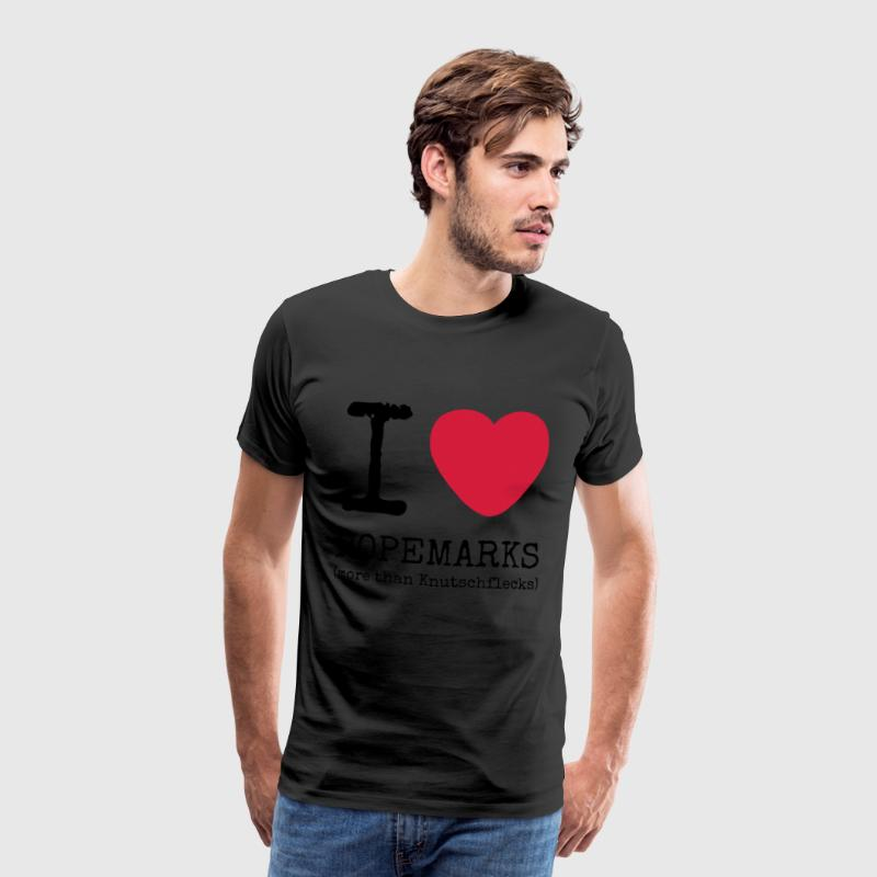 I love Ropemarks (more than Knutschflecks) - Männer Premium T-Shirt