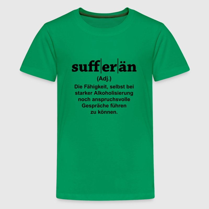 Sufferän T-Shirts - Teenager Premium T-Shirt