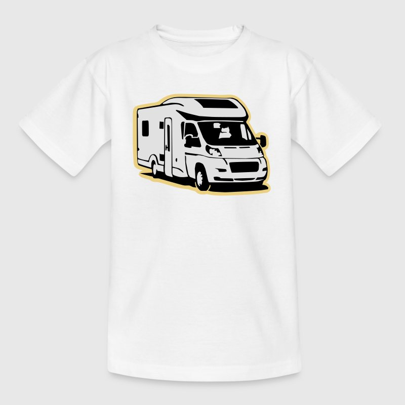 Camper Wohnmobil (3 color) T-Shirts - Teenager T-Shirt