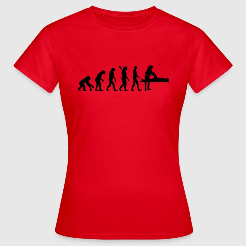 Evolution Physiotherapeut T-Shirts - Frauen T-Shirt