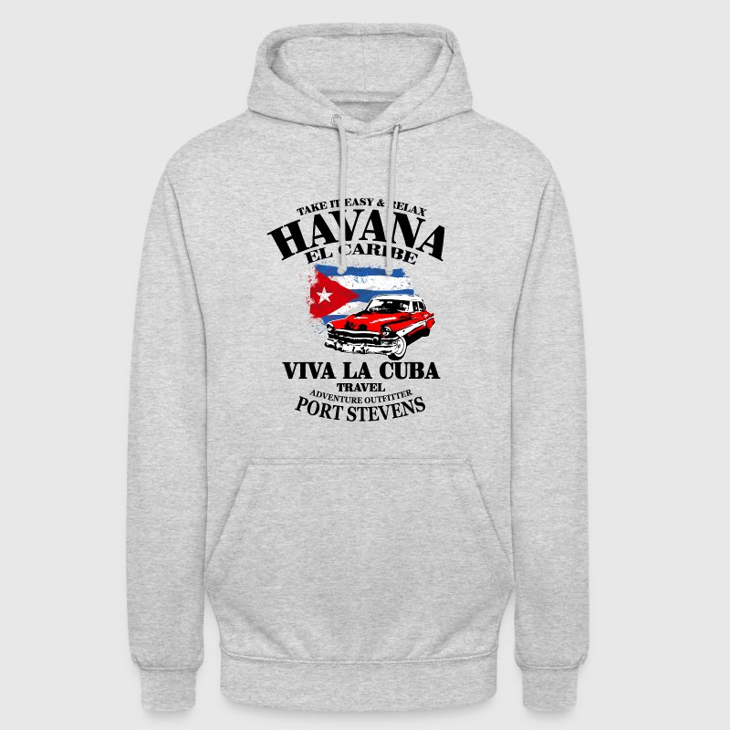 Havana - Cuba Flag Sweat-shirts - Sweat-shirt à capuche unisexe
