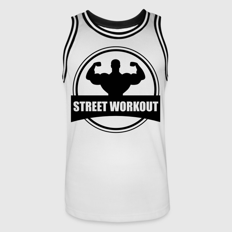 STREET WORKOUT Vêtements de sport - Maillot de basket Homme