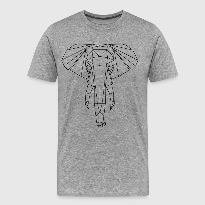 Elephant graphic T-Shirts - Men's Premium T-Shirt