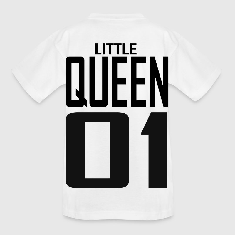 XXXXL LOGO LITTLE QUEEN 01.png T-Shirts - Kinder T-Shirt