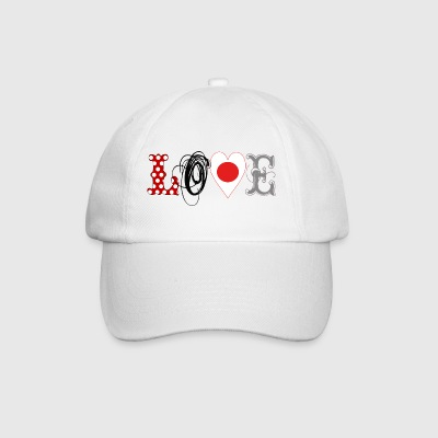 Love Japan Black - Baseball Cap