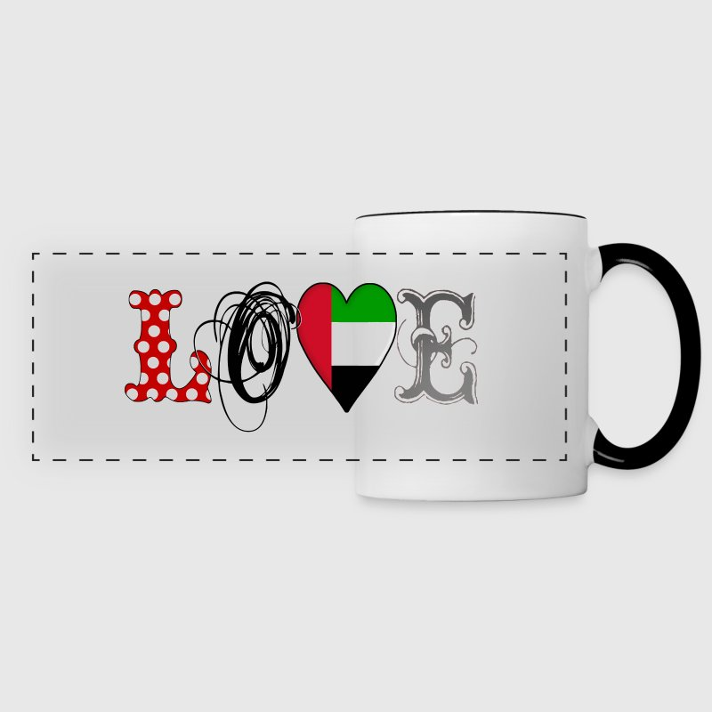 Love UAE  - Panoramic Mug
