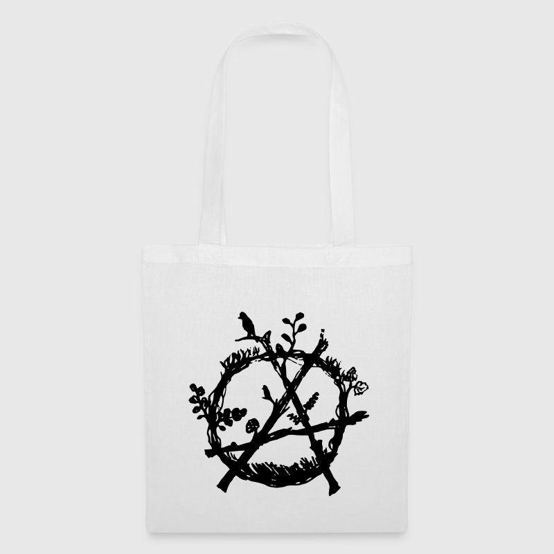 green anarchy eco - Tote Bag