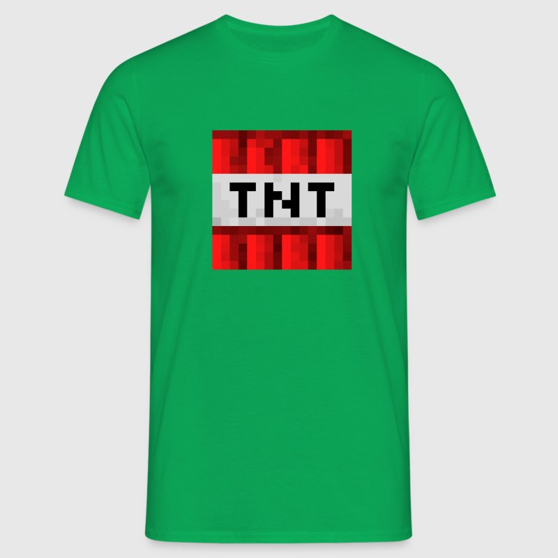 TNT Bomb Minecraft - Men's T-Shirt
