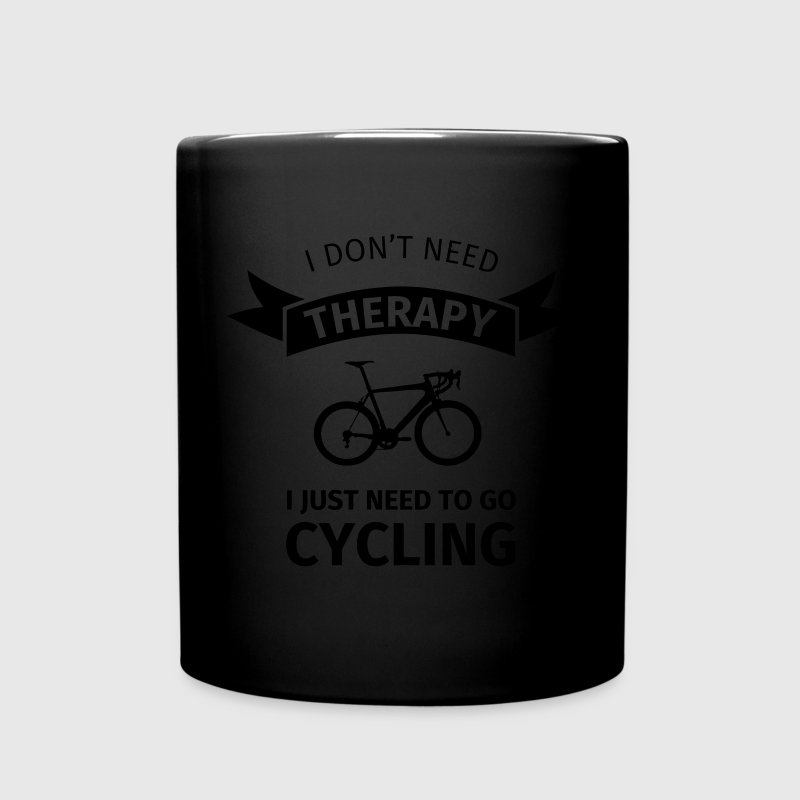 I don't neet therapy I just need to go cycling Bouteilles et Tasses - Tasse en couleur