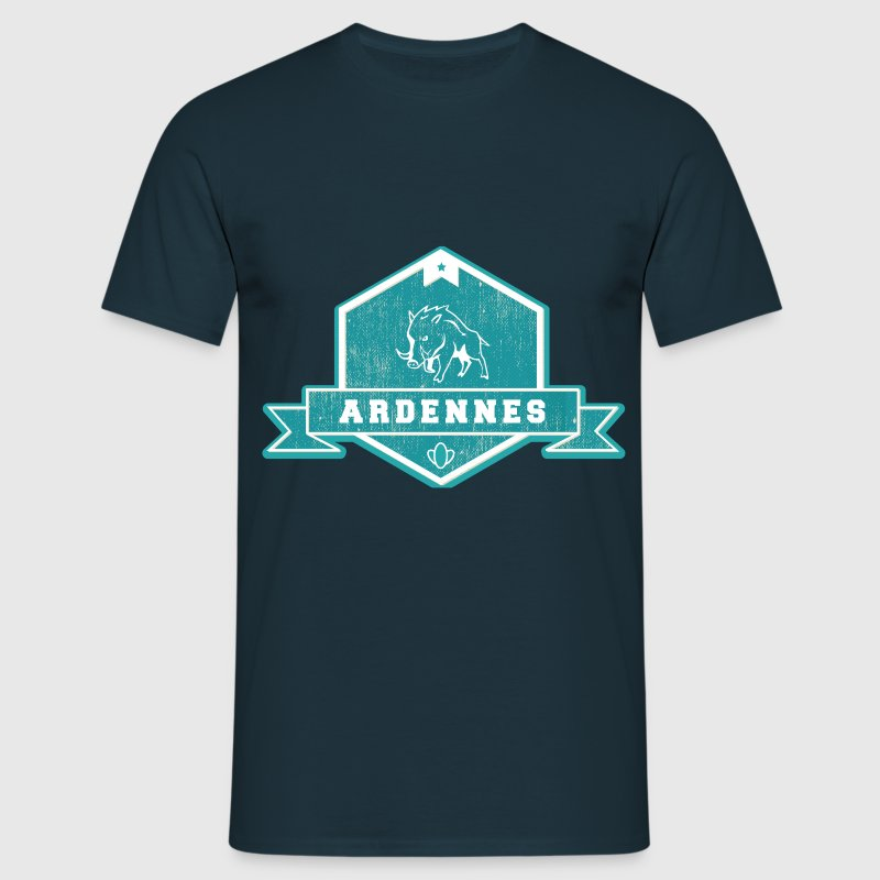 Tee Shirt France Champagne-Ardenne Ardennes Fanion - T-shirt Homme